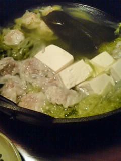しゅうまい湯豆腐