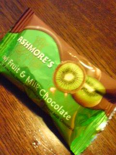 アッシュモアーズ キウイフルーツ&ミルクチョコレート